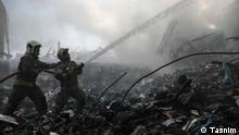 Iran Plasco Feuerwehr