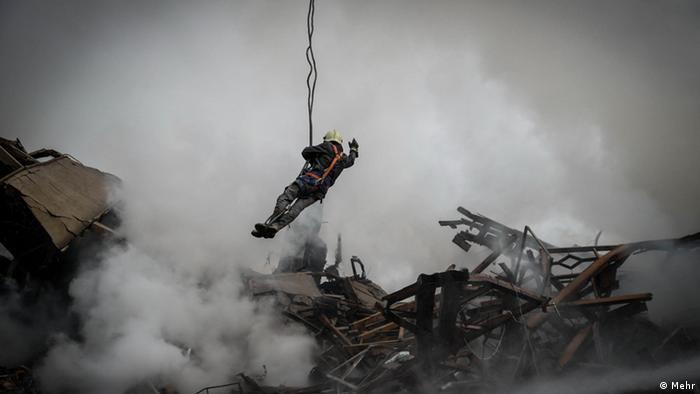 Iran Plasco Feuerwehr (Mehr)