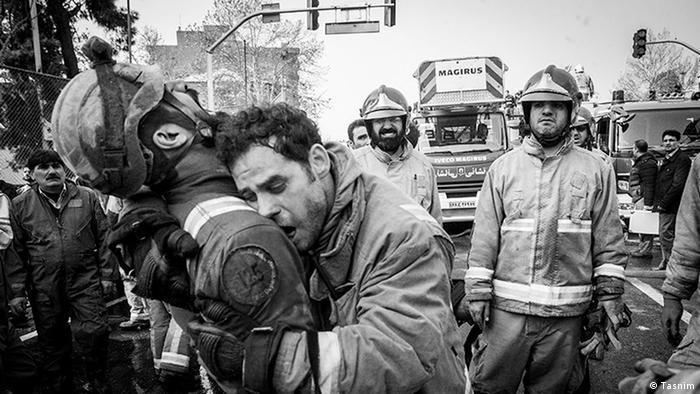 Iran Plasco Feuerwehr (Tasnim)