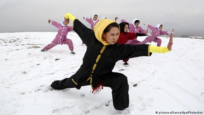 Shaolin Wushu Club in Kabul (picture-alliance/dpa/Photoshot)