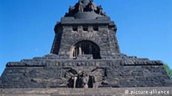 Мемориал, посвященный Битве народов под Лейпцигом 1813 года