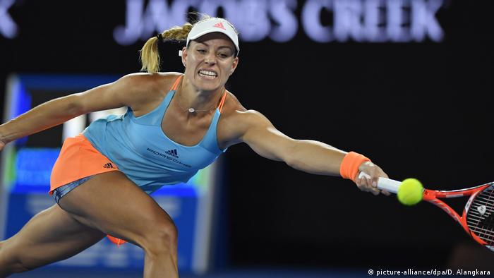 Australian Open Tennis Angelique Kerber (picture-alliance/dpa/D. Alangkara)