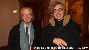Öterreich Peter Handke und Wim Wenders