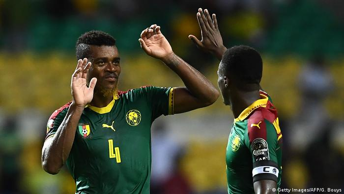 Afrika cup 2017 Gabun vs. Kamerun (Getty Images/AFP/G. Bouys)