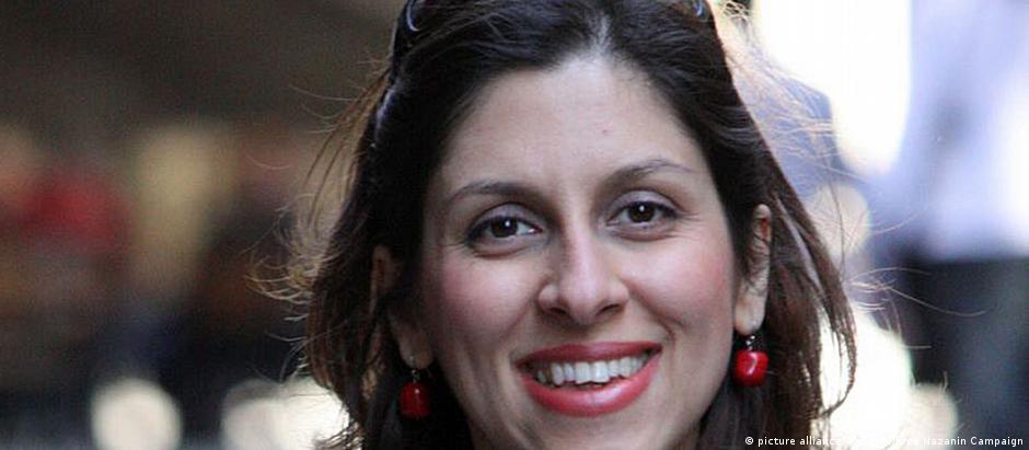 Assistente social Nazanin Zaghari-Ratcliffe, detida no Irã