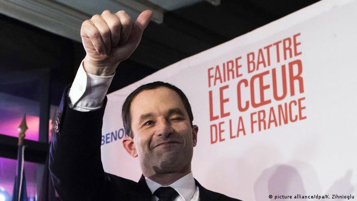 Präsidentschaftswahl Frankreich Benoit Hamon