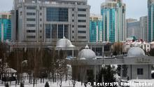 23.01.2017****A general view of Rixos President Hotel, the venue that hosts Syria peace talks, in Astana, Kazakhstan, January 23, 2017. REUTERS/Mukhtar Kholdorbekov