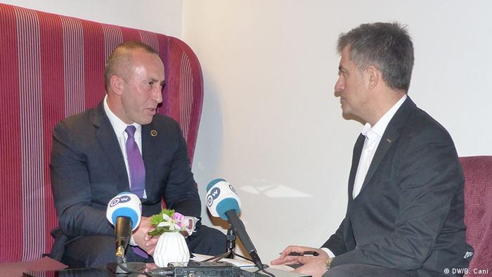 Kosovo Ramush Haradinaj ehemaliger Premierminister (DW/B. Cani)