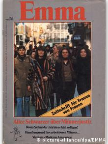 First edition of Emma from 1977 (picture-alliance/dpa/EMMA)