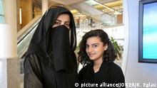 Saudi Arabien moderne Menschen