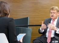 Эльмар Брок в беседе с Жанной Немцовой