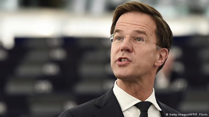Mark Rutte niederländischer Premierminister (Getty Images/AFP/F. Florin)