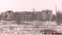 Zerstörte Infrastruktur - Objekte im Donezk-Gebiet/Wiederaufbau des Donezk-Gebiets Ort: Slowiansk Datum: Januar 2017 (c) DW/O. Indyukhova