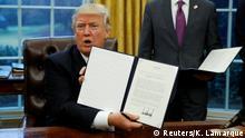 USA steigen aus Transpazifik-Handelsabkommen aus