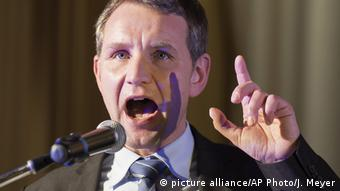 deutschland Björn Höcke ARCHIV (picture alliance/AP Photo/J. Meyer)
