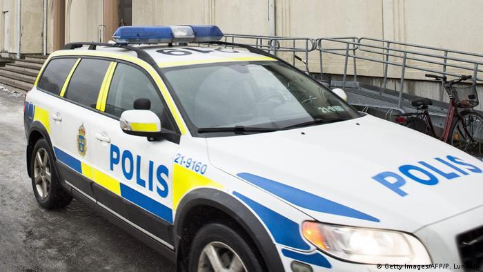 Schweden Polizei Uppsala (Getty Images/AFP/P. Lundahl)