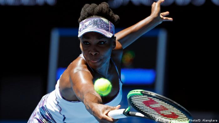Australien Tennis Venus Williams (Picture-Alliance/AP Photo/D. Alangkara)
