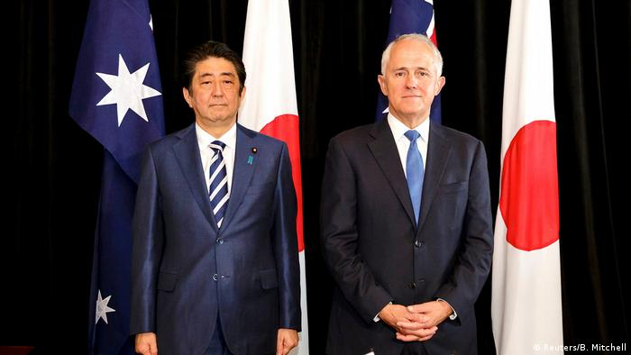 Australian PM in Japan to Boost Military, Economic Ties