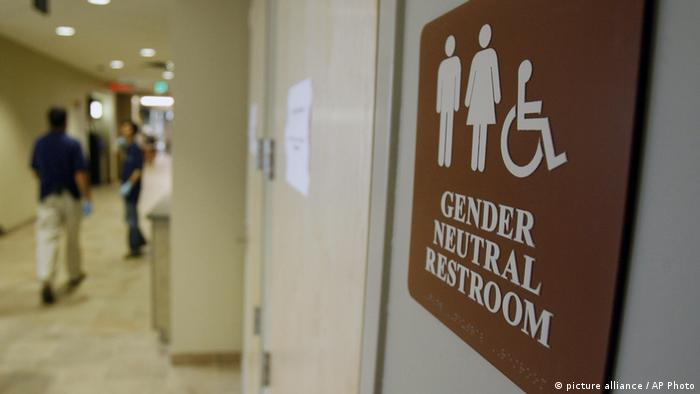 USA Unisex-Toilette in New York (picture alliance / AP Photo)
