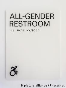 USA Unisex-Toilette in New York (picture alliance / Photoshot)