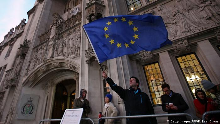 Верховный суд запретил Лондону запускать процедуру Brexit