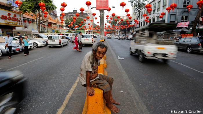 Chinesisches Neujahrsfest 2017 in Chinatown Yangon (Reuters/S. Zeya Tun)