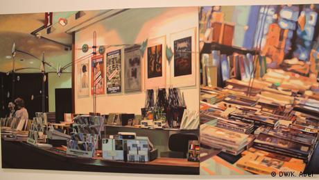 Artwork by Gunhild Söhn at the exhibition Let's Buy It in Oberhausen (DW/K. Abel )