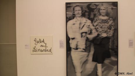 Frau mit Mutter by Gerhard Richter at the exhibition Let's Buy It in Oberhausen (DW/K. Abel )