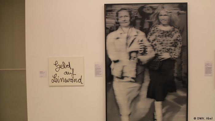 Frau mit Mutter by Gerhard Richter at the exhibition Let's Buy It in Oberhausen (DW/K. Abel )