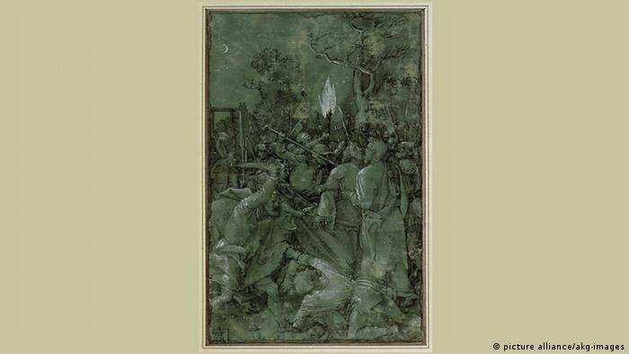 The Capture of Christ by Albrecht Dürer 1504 (picture alliance/akg-images)