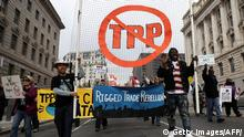 USA TPP Protest