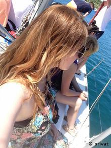 Kroatien Studentin Christina während ihres Erasmus-Semesters