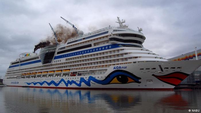 AIDA-Schiff Schwarzer Rauch
