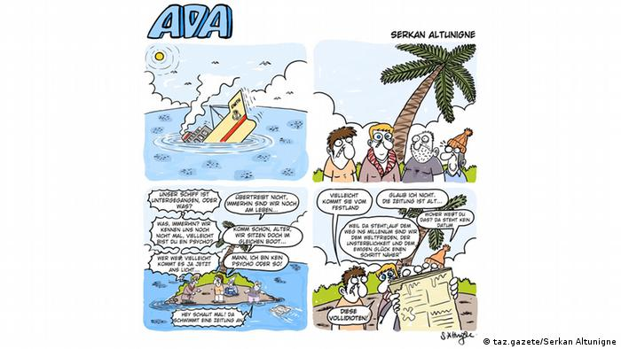 Karikatur von Serkan Altunigne