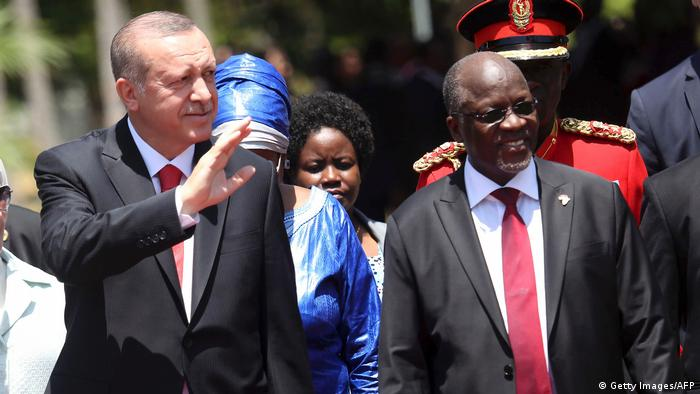 Afrikareise Erdogan in Tansania (Getty Images/AFP)
