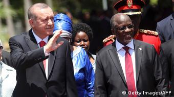 Afrikareise Erdogan in Tansania (Getty Images/AFP)