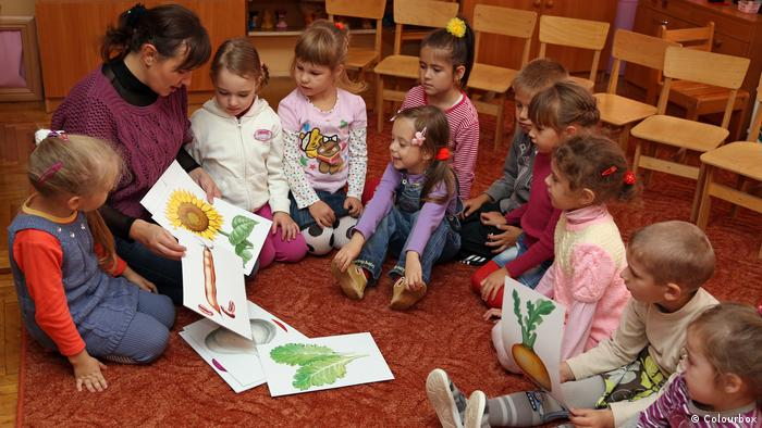 Bildergalerie German Words in English   Kindergarten (Colourbox)