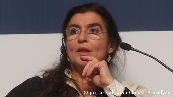 Greek Minister of Culture and Sports Lydia Koniordou (picture-alliance/dpa/V. Prokofyev)