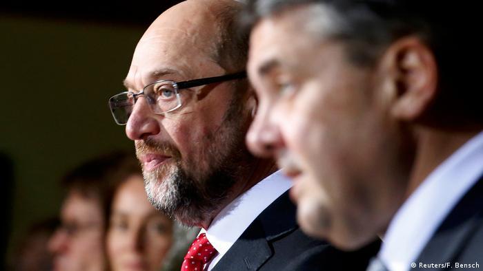 Deutschland Schulz erhebt Führungsanspruch der SPD (Reuters/F. Bensch)
