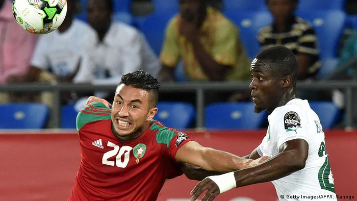 Africa Cup of Nations Morocco against Ivory Coast