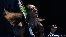 Tennis Australian Open Viertelfinale Serena Williams