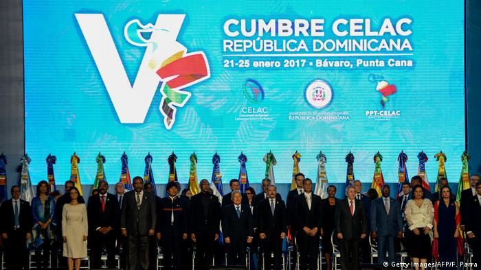 Dominikanische Republik CELAC Gipfel (Getty Images/AFP/F. Parra)