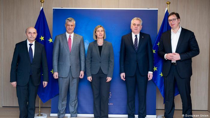 Brüssel EU Dialog Belgrad Pristina