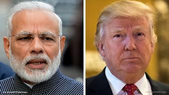 Bild-Kombi Modi Trump