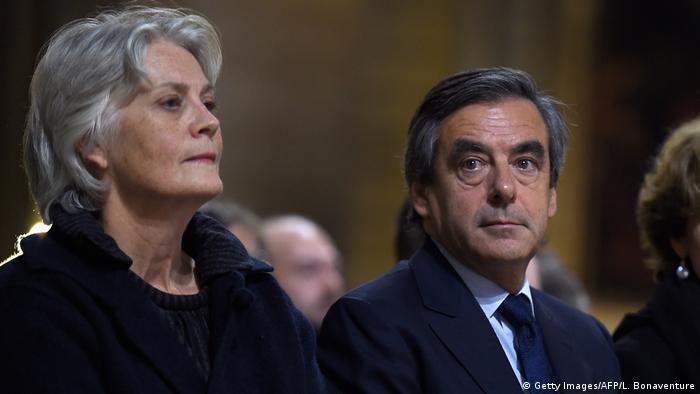 Frankreich Francois Fillon Ex-Premierminister mit seiner Ehefrau Penelope (Getty Images/AFP/L. Bonaventure)
