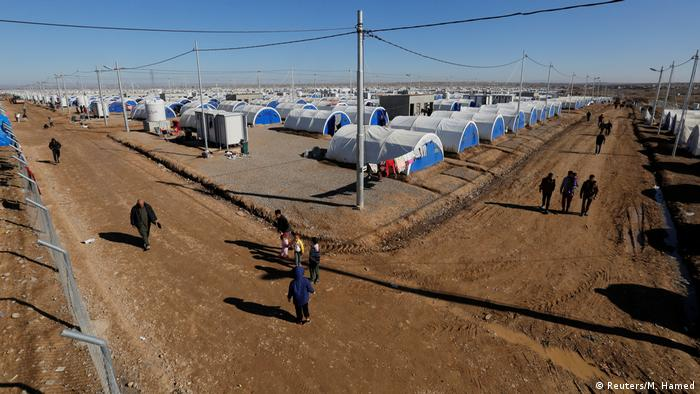 Irak Khazer Camp bei Mossul (Reuters/M. Hamed)