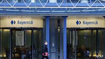 Deutschland Finanzkrise Rettungspaket Landesbanken Bayern LB