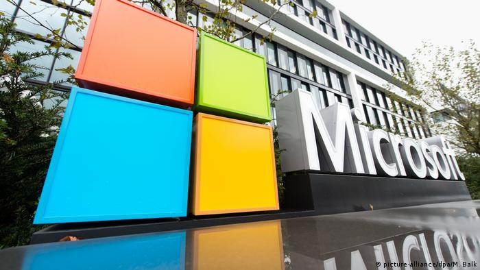Microsoft (picture-alliance/dpa/M. Balk)