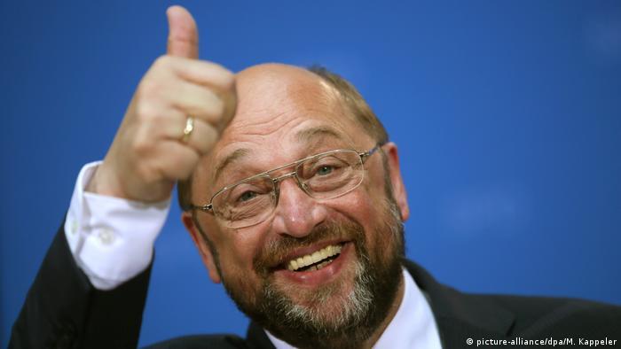 Deutschland Martin Schulz SPD Europawahl (picture-alliance/dpa/M. Kappeler)