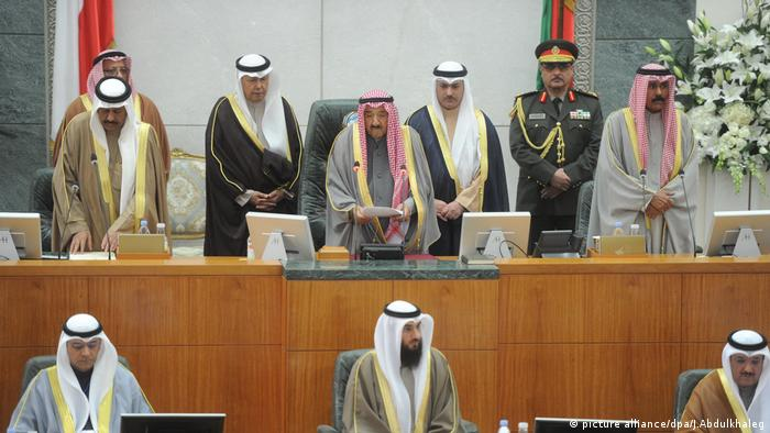 Emir von Kuweit Sabah Al-Ahmad Al-Jaber Al-Sabah (picture alliance/dpa/J.Abdulkhaleg)